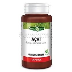 Erba Vita Acai Integratore Antiossidante 60 Capsule