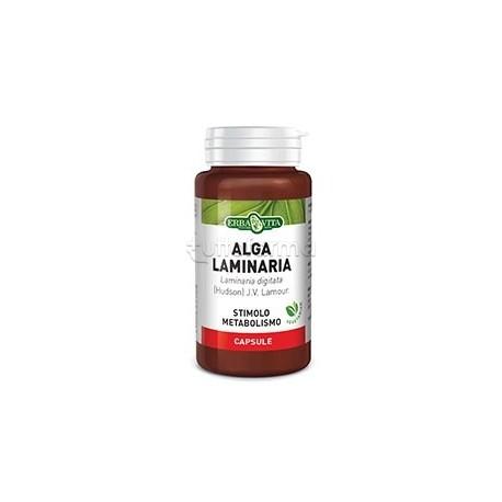 Erba Vita Alga Laminaria Integratore per Metabolismo 60 Capsule