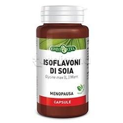 Erba Vita Isoflavoni di Soia Integratore per Menopausa 60 Capsule