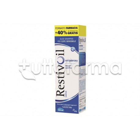 Restivoil Complex Olio Shampoo Antiforfora 350 ml