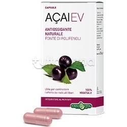 Erba Vita Acai EV Integratore Antiossidante 45Capsule