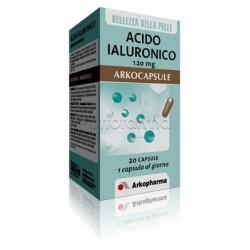 Arkocapsule Acido Ialuronico Integratore per la Pelle 20 Capsule