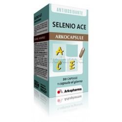 Arkocapsule Selenio ACE Integratore per la Pelle 20 Capsule