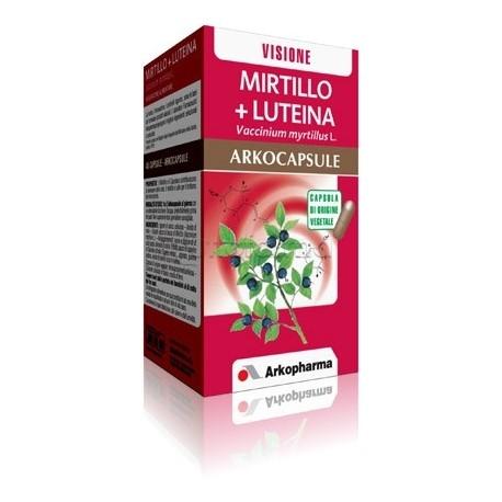 Arkocapsule Mirtillo + Luteina Integratore per Benessere degli Occhi 45 Capsule