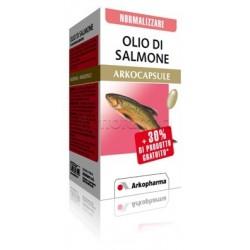 Arkocapsule Olio di Salmone Integratore per Colesterolo e Benessere del Cuore 45 Capsule