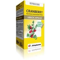 Arkocapsule Cranberry Integratore per Vie Urinarie e Cistite 45 Capsule