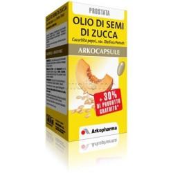 Arkocapsule Olio di Semi di Zucca Integratore per Prostata 60 Capsule