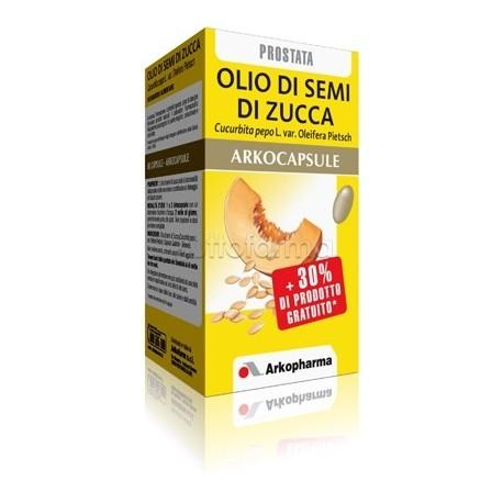 prostata olio di semi di zucca
