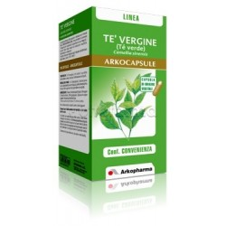 Arkocapsule Tè Verde Integratore The Vergine 90 Capsule