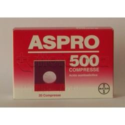 Aspro 500 20 Compresse 500 mg Antinfiammatorio ed Antidolorifico