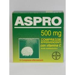 Aspro 12 Compresse Effervescenti Con Vitamina C 500 mg