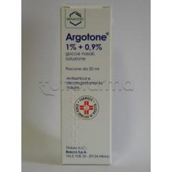 Argotone Gocce Nasali Decongestionanti 20 ml
