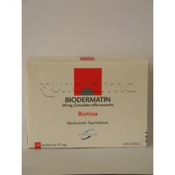 Biodermatin Granulato Carenza Di Biotina 30 Bustine 20 mg
