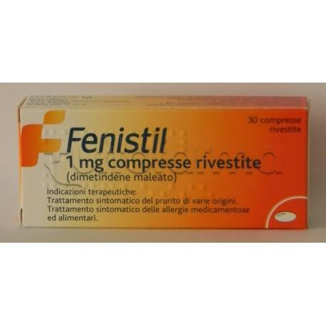 Fenistil 30 Compresse Rivestite 1 mg