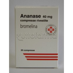 Ananase 20 Compresse Rivestite 40 mg