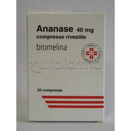 ananase antinfiammatorio prostata