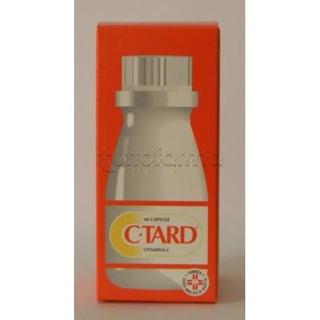 C Tard 60 Capsule 500 mg Rilascio Prolungato Vitamina C