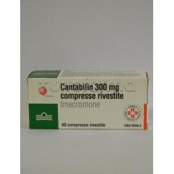 Cantabilin 40 Compresse Rivestite 300 mg per Fegato e Bile