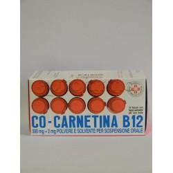 Cocarnetina B12 10 Flaconi 10 ml Ricostituente e Stimolante Appetito
