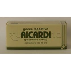 Gocce Lassative Aicardi 15 ml contro Stitichezza