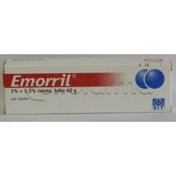 Emorril Crema per Emorroidi 40 gr 1% + 1,5%