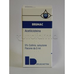 Brunac Collirio 5 ml 5%