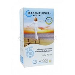 Pascoe Basenpulver Sali Minerali Alcalinizzanti Integratore Alcalino 260 Grammi