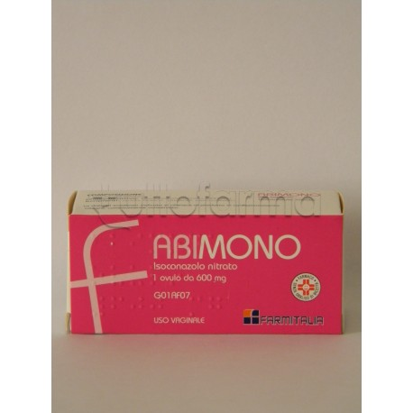 Abimono 1 Ovulo Vaginale 600 mg