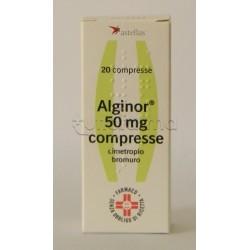 Alginor per Spasmi Dolorosi e Coliche 20 Compresse 50 mg