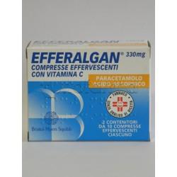 Efferalgan C 20 Compresse Effervescenti 330 mg