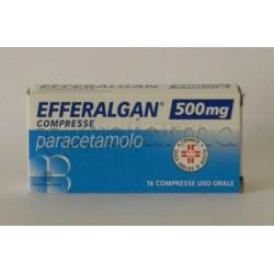 Efferalgan 16 Compresse 500 mg Paracetamolo