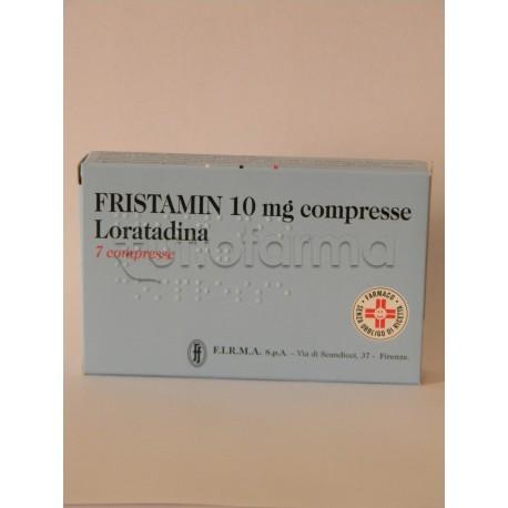 Fristamin 7 Compresse 10 mg Antistaminico