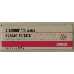 Clarema Crema 30 gr 1% per Lividi Ematomi e Flebiti