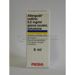 Allergodil Collirio per Allergia Flacone 6 ml 0,05%