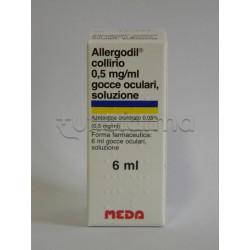 Allergodil Collirio per Allergia Flacone 6 ml 0,05%
