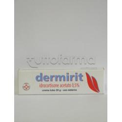 Dermirit Crema 20 g 0,5% per Prurito e Punture di Insetti