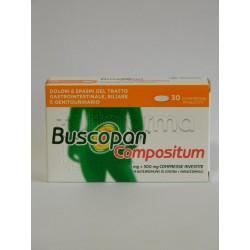 Buscopan Compositum 20 Compresse per Spasmi e Coliche