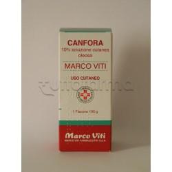 Canfora Marco Viti 10 % Soluzione Oleosa 100 gr