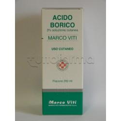 Acido Borico Marco Viti 3% 200 ml Acqua Borica