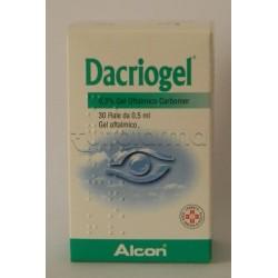 Dacriogel Gel 30 Fiale 0,5 ml 0,3% Idratante e Lubrificante