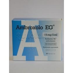 Ambroxolo EG Soluzione da Nebulizzare per Tosse e Catarro 10 Fiale 15 mg/2 ml