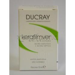 Ducray Kerafilmver Collodio per Verruche e Calli 10 ml