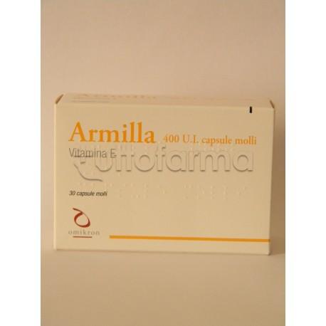 Armilla 30 Capsule molli 400 U.I Vitamina E