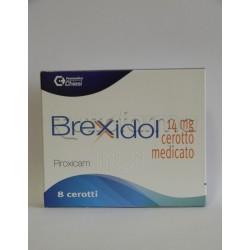 Brexidol 8 Cerotti Medicati Antinfiammatori ed Antidolorifici 14 mg