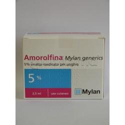 Amorolfina Smalto 5% 2.5 ml per Micosi delle Unghie