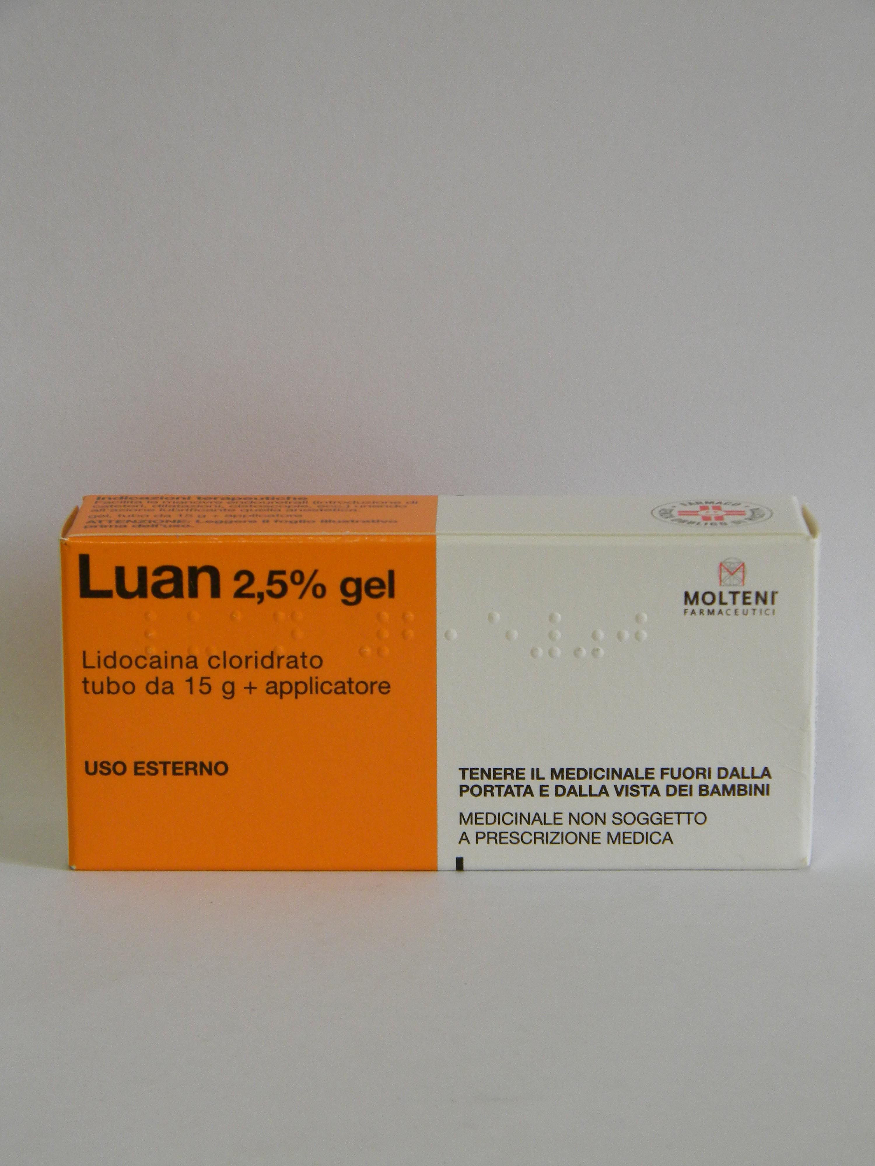 lidocaina per il sesso anale