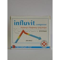 Influvit 16 Compresse 150+300+150 mg per Febbre Dolore e Influenza