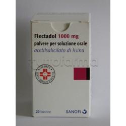 Flectadol 20 Bustine 1 gr Antinfiammatorio ed Antidolorifico
