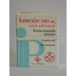 Lomexin 6 Ovuli Vaginali contro Micosi e Candida 200 mg