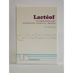 Lacteol Polvere 10 Bustine 10 miliardi Contro Diarrea